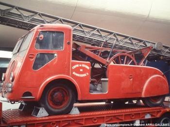 Porteur d'échelle, Sapeurs-pompiers, Yvelines (78)