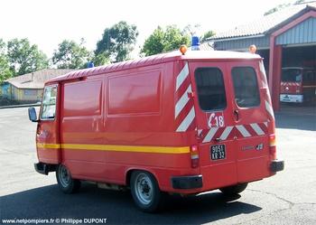 Véhicule pour interventions diverses, Sapeurs-pompiers, Gers (32)