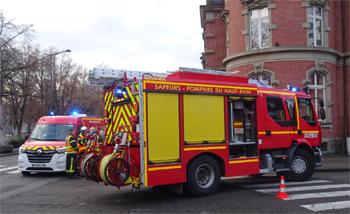 Fourgon-pompe tonne secours routier, Sapeurs-pompiers, Haut-Rhin (68)