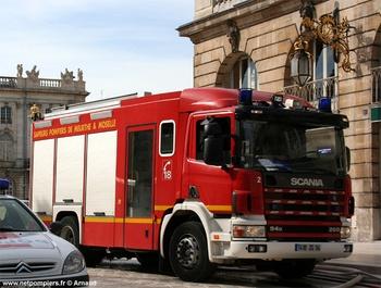 Fourgon-pompe tonne secours routier, Sapeurs-pompiers, Meurthe-et-Moselle (54)