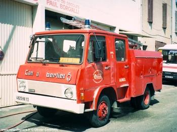 Fourgon-pompe tonne léger, Sapeurs-pompiers, Bouches-du-Rhône (13)