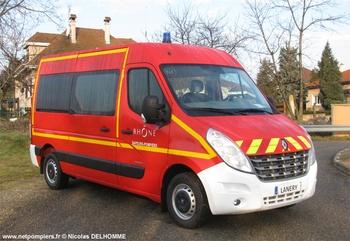 Véhicule de transport de personnel, Sapeurs-pompiers, Rhône (69)