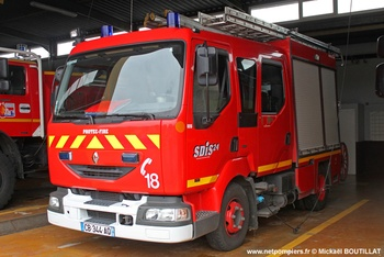 Fourgon-pompe tonne léger, Sapeurs-pompiers, Dordogne (24)