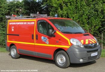 Véhicule pour interventions diverses, Sapeurs-pompiers, Allier