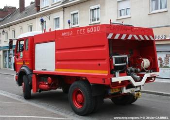 Camion-citerne d'incendie, Sapeurs-pompiers, Seine-Maritime (76)
