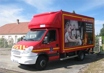 Véhicule de logistique, Sapeurs-pompiers, Loiret (45)
