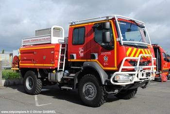 Camion-citerne pour feux de forêts, Sapeurs-pompiers, Yvelines