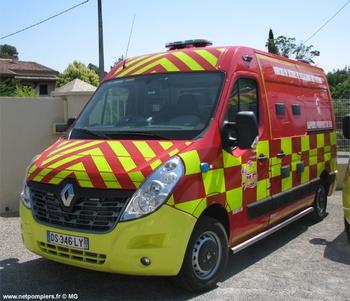 Véhicule de secours et d'assistance aux victimes, Sapeurs-pompiers, Var (83)
