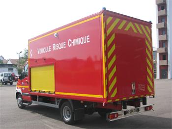Véhicule de lutte contre la pollution, Sapeurs-pompiers, Saône-et-Loire (71)