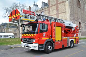 Echelle pivotante, Sapeurs-pompiers, Eure