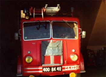 Fourgon d'incendie normalisé, Sapeurs-pompiers, Loire (42)
