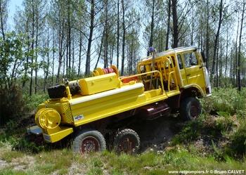 Véhicule de liaison, Défense des forêts contre les incendies, Gironde (33)