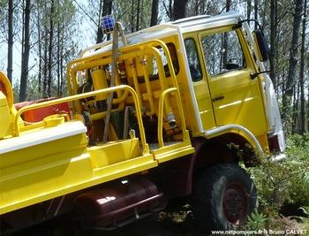 Camion-citerne pour feux de forêts, Défense des forêts contre les incendies, Gironde (33)