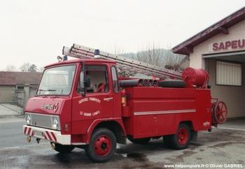 Camion-citerne d'incendie, Sapeurs-pompiers, Isère (38)