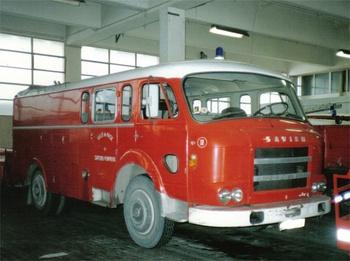 Fourgon-pompe dévidoir de grande puissance, Sapeurs-pompiers, Alpes-Maritimes (06)