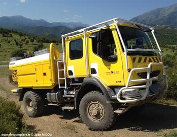 Camion-citerne pour feux de forêts, Défense des forêts contre les incendies, Corse-du-Sud