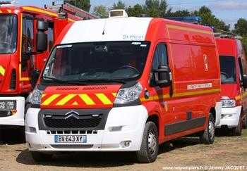 <h2>Véhicule de secours et d'assistance aux victimes - Connerré - Sarthe (72)</h2>