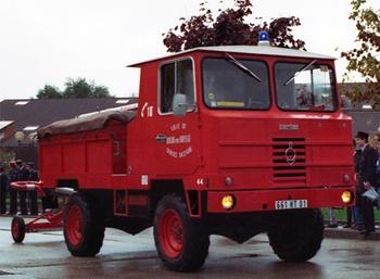 Dévidoir automobile, Sapeurs-pompiers, Ain (01)