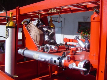 <h2>Camionnette d'incendie - Fessenheim - Haut-Rhin (68)</h2>