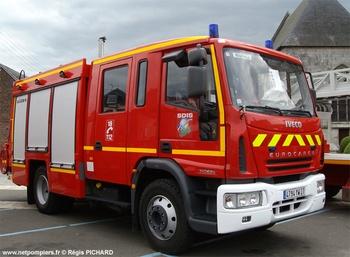Fourgon-pompe tonne, Sapeurs-pompiers, Eure (27)