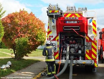 Fourgon-pompe tonne, Sapeurs-pompiers de Paris,  ()