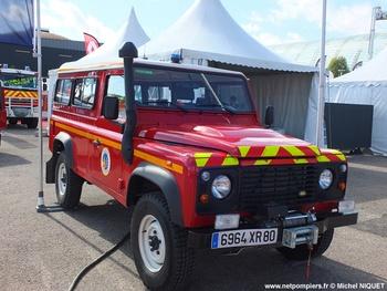 Véhicule de liaison, Sapeurs-pompiers, Somme (80)