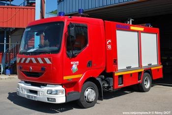 Véhicule de secours routier, Sapeurs-pompiers, Eure (27)