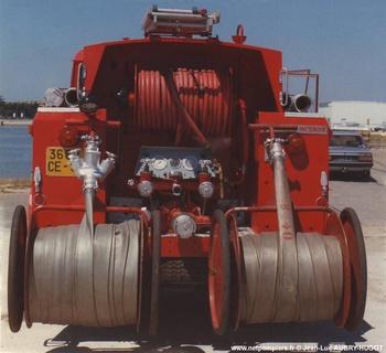 Fourgon-pompe tonne, Sapeurs-pompiers, Gironde (33)