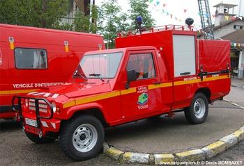 Véhicule de secours routier, Sapeurs-pompiers, Vosges (88)
