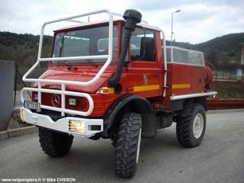 Camion-citerne pour feux de forêts léger, Sapeurs-pompiers, Gard