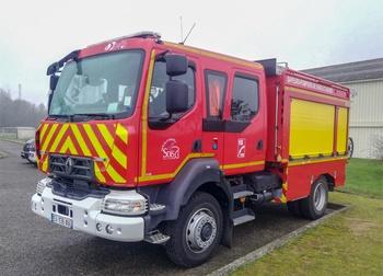 Camion-citerne rural, Sapeurs-pompiers, Seine-et-Marne (77)