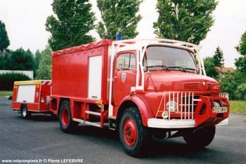 Dévidoir automobile, Sapeurs-pompiers, Essonne (91)