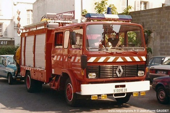 Véhicule de secours routier, Sapeurs-pompiers, Eure-et-Loir