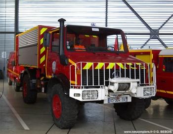 Véhicule porte-cellule, Sapeurs-pompiers, Isère (38)