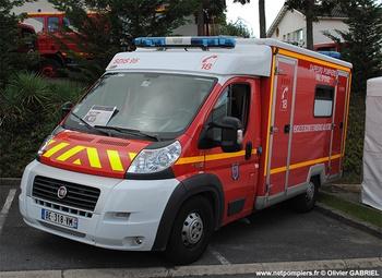 <h2>Véhicule de secours et d'assistance aux victimes - Eaubonne - Val-d'Oise (95)</h2>