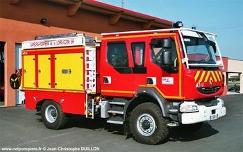 Camion-citerne rural secours routier, Sapeurs-pompiers, Loire (42)