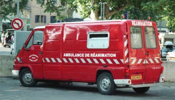 Ambulance de réanimation, Sapeurs-pompiers, Vaucluse (84)