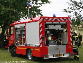 Véhicule de secours routier, Sapeurs-pompiers, Yonne