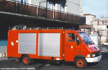 Véhicule de secours routier, Sapeurs-pompiers, Loire