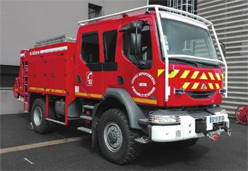 Camion-citerne rural, Sapeurs-pompiers, Nièvre (58)