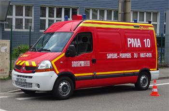 <h2>Véhicule poste médical avancé - Sainte-Croix-en-Plaine - Haut-Rhin (68)</h2>