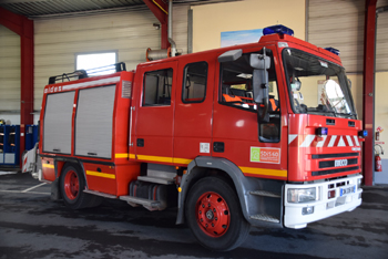 Fourgon dévidoir de grande puissance, Sapeurs-pompiers, Oise (60)