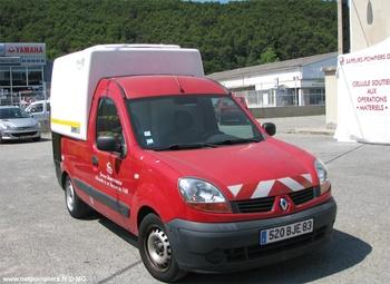 Véhicule de transport frigorifique, Sapeurs-pompiers, Var