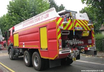 Camion-citerne de grande capacité, Sapeurs-pompiers, Eure-et-Loir (28)