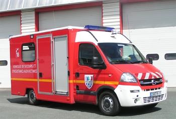 Véhicule de secours et d'assistance aux victimes, Sapeurs-pompiers, Charente-Maritime (17)