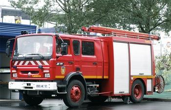 Fourgon-pompe tonne, Sapeurs-pompiers, Sarthe (72)