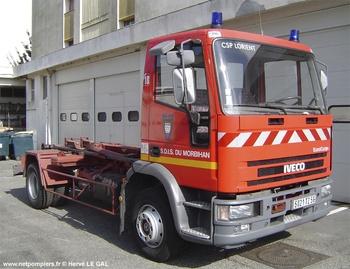 Véhicule porte-cellule, Sapeurs-pompiers, Morbihan (56)