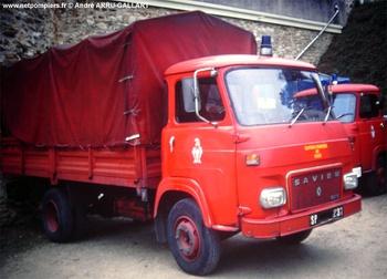 Véhicule de transport, Sapeurs-pompiers de Paris,  ()