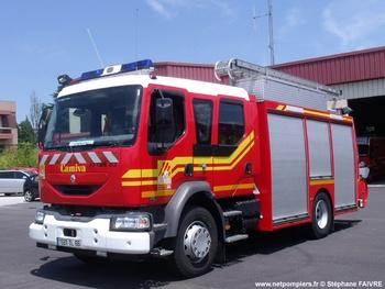 Fourgon-pompe tonne secours routier, Sapeurs-pompiers, Pyrénées-Orientales (66)