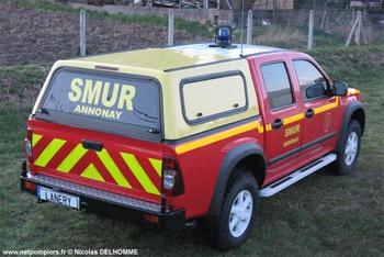 Véhicule radio médicalisé, Sapeurs-pompiers, Ardèche